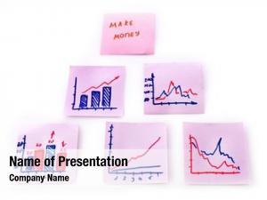 Money notes earn symbols charts