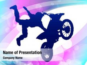 Motorcycle motocross rider