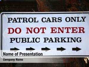 Patrol police department cars only