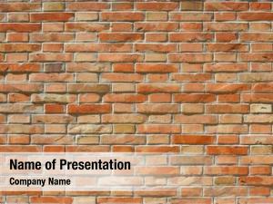 Wall, red bricks full frame