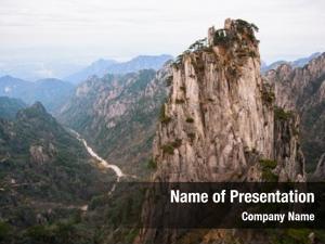 (beginning to believe) view shixin peak huangshan