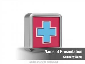 Metal rectangular volume sign medical