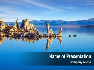 Salt mono lake lake california