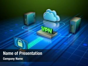 Network virtual private creating secure