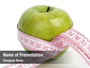 Measured green apples meter, sports