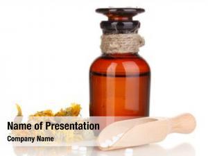 Herbs tablets bottle white