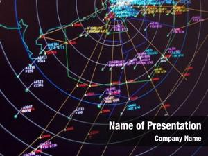Secondary Surveillance Radar Situation screen display