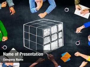 Cube Cubic Puzzle Solution Solving Problem Concept