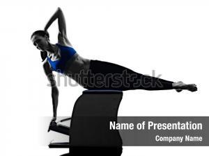 Woman pilates chair