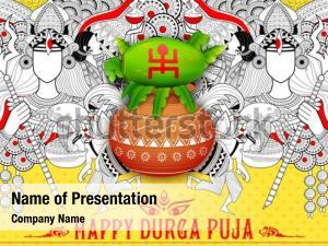 Goddess durga in happy
