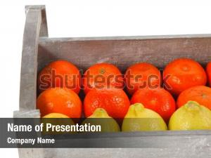 Lemon fresh raw mandarin packed
