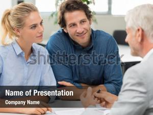 Businessman explaining loan