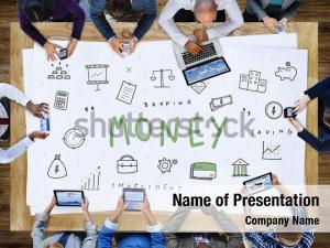 Businesswomen money accounting financial