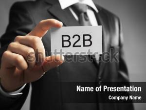 Holding handsome businessman business