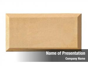 An empty slab -name plate