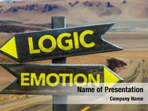 Logic - Emotion crossroad in a desert