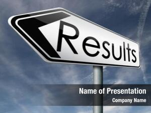 Result reach goal get results and succeed business success be a winner in business elections pop poll or sports market results or market report business result business report election results