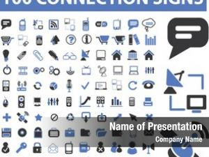 Connection, communication, link, internet, online, phone, computer network, hosting, system administration, router, laptop, tower, antenna, equipment, lan, broadcasting, technology icons, signs