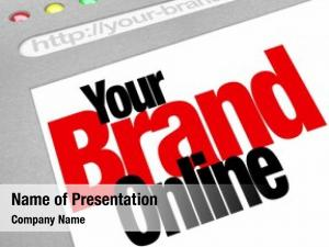 Brand words your online website