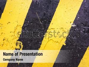 Prohibition yellow grunge black