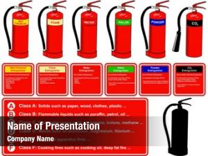 Different fire extinguisher types building