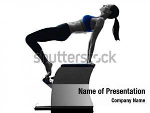 Woman pilates powerpoint theme