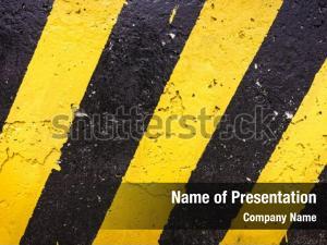 Yellow grunge black stripes surface