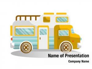 Camper camping bus van motorhome