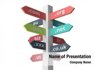 Names signpost domain white