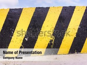 Yellow grunge black stripes