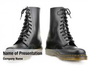 Boots new black army travel