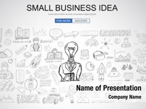 Idea small business concept business