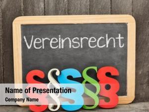 Vereinsrecht german word (club law)