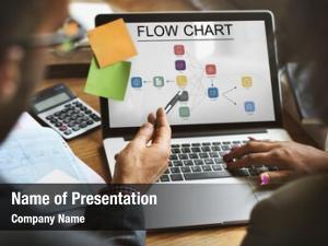 Chart people flow concept