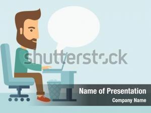 Buisnessman sitting