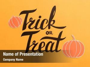 Phrase haloween theme frame pumpkins