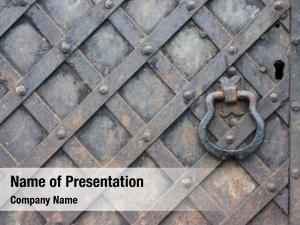 Church historic catholic door