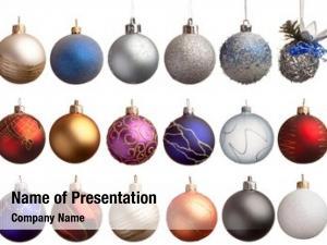 Balls, set christmas