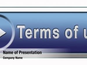 User terms use terms button