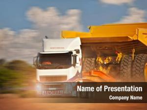Truck heavy duty abnormal haulage