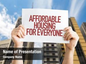Everyone affordable housing