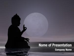 Buddha midnight meditation