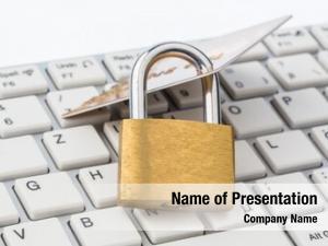 Card padlock credit keyboard