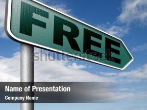 Free product powerpoint template