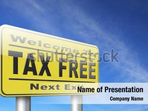 Financial tax free zone