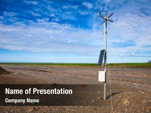 Weather propeller anemometer station wind