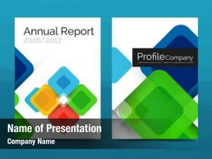Report business annual business brochure