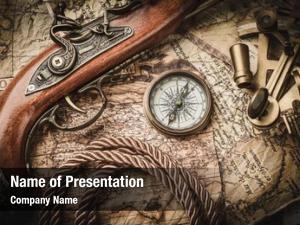 Life vintage still compass,sextant old