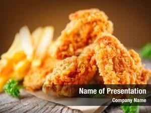 Wings fried chicken legs