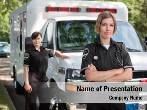 Medical confident emergency team portrait